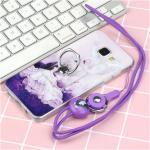 เคส Samsung A5 2016 ซิลิโคน soft case สกรีลายน่ารักๆ พร้อมแหวานมือถือและสายคล้องเข้าชุดกัน แบบที่ 3