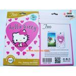 ฟิล์มกันรอย ลายการ์ตูน Sumsung Galaxy S4 ลาย Hello Kitty-8