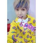 เสื้อฮูดแฟชั่นเกาหลี GOT7 Mark Just Right MV odd future (โดนัทสีเหลือง) : XL