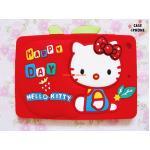 เคสซิลิโคน 3D Hello Kitty ipad mini-แดง