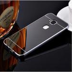 เคส Huawei G7 Plus รุ่น Aluminium Hybrid Mirror Back (เคสฝาหลังเงา) สีดำ