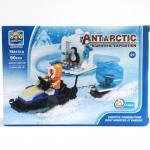 (TS8101A-01) ตัวต่อขั้วโลกใต้ (ANTARTIC) 90 ชิ้น