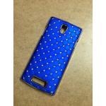 Case OPPO Find Neo3 - Neo 5 ลายฝังเพชร สีน้ำเงิน
