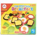 (B6801/02/03/04/09/13-C) ชุดแป้งโดว์เซ็ตอาหารคละ 6 แบบ
