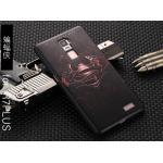 เคส OPPO R7 Plus รุ่น Black 3D (เคสนิ่ม) #1