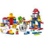 เด็กเล็ก (Dupro) KIDS HOME TOYS 188-32. ตัวต่อเลโก้จีน ชุดละครสัตว์ 110 ชิ้น