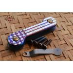 Key Bar Starbar Anodized Treated Titanium