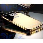 เคส Samsung Note 5 รุ่น Aluminium Hybrid Mirror Back (เคสฝาหลังเงา) สีทอง