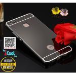 เคส Huawei P9 lite รุ่น Aluminium Hybrid Mirror Back (เคสฝาหลังเงา) สีดำ
