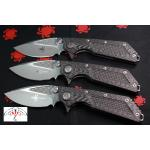 Microtech Marfione/Strider Custom DOC, Carbon Fiber Handle, Plain MTC153-7DC