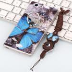 เคส Oppo Joy 5 / Neo 5s ซิลิโคน soft case สกรีลายน่ารักๆ พร้อมแหวานมือถือและสายคล้องเข้าชุดกัน แบบที่ 5