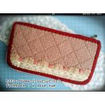 กระเป๋าเงินใบยาว ผ้าทอญี่ปุ่น - สั่งทำค่ะ