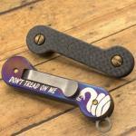 Key Bar Treated DTOM Titanium/Carbon Fiber