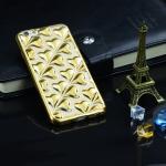 เคสนิ่มสีคาร์บอน ลายหัวใจไอโฟน 6/6s 4.7 นิ้ว-สีทอง-2