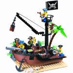 โจรสลัด (Pirate) ENLIGHTEN-306 ตัวต่อเลโก้จีน เกาะโจรสลัด 178 ชิ้น