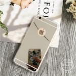 เคส tpu กระจกเงา ไอโฟน 66s 4.7 นิ้ว-เงิน
