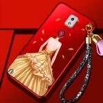 เคส Samsung Note 3 พลาสติกลายผู้หญิงแสนสวย พร้อมที่คล้องมือ สวยมากๆ แบบที่ 2