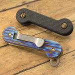 Key Bar Treated Driftwood Titanium/Carbon Fiber