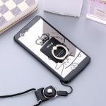 Case Oppo Joy 5 / Neo 5s พลาสติก + ขอบ TPU KEEP CALM Acrylic วัสดุเลียนแบบกระจกเงา พร้อมแหวนตั้ง แบบที่ 6