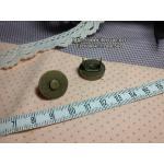 กระดุมแม่เหล็กแบบเจาะ ขนาด 1.8 cm
