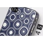 เคสไอโฟน 4/4S GGMM Engrave-Square for iPhone 4 4S BLUE/BLUE