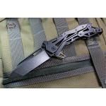 Quartermaster QTR-11TT General Lee 2 Texas Tea Black Stonewash Tanto Blade