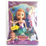 (WX05-6) ตุ๊กตานางเงือกมีไฟ-มีเสียง