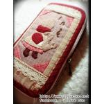 กระเป๋าเงินใบยาว ผ้าทอญี่ปุ่น - สินค้าสั่งทำ