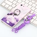 เคส Oppo Joy 5 / Neo 5s ซิลิโคน soft case สกรีลายน่ารักๆ พร้อมแหวานมือถือและสายคล้องเข้าชุดกัน แบบที่ 3