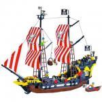 โจรสลัด (Pirate) ENLIGHTEN-308. ตัวต่อเลโก้จีน เรือโจรสลัดใหญ่ ส่งฟรี EMS