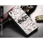 เคส OPPO Mirror5 lite รุ่น Black 3D (เคสนิ่ม) #13