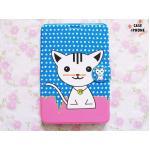 เคสกระเป๋าลายการ์ตูน Ipad mini 1-3-แมว-1