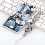 เคส Oppo Joy 5 / Neo 5s ซิลิโคน soft case สกรีลายน่ารักๆ พร้อมแหวานมือถือและสายคล้องเข้าชุดกัน แบบที่ 6