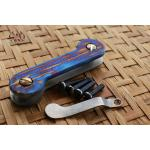 Key Bar Driftwood Anodized Treated Titanium