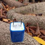 หัวปลั๊กเต๋า Iphone -สีน้ำเงิน