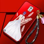 เคส Samsung Note 3 พลาสติกลายผู้หญิงแสนสวย พร้อมที่คล้องมือ สวยมากๆ แบบที่ 6