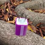 หัวปลั๊กเต๋า Iphone -สีม่วง