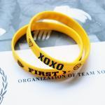 ริสแบนด์EXO 3D (FIRST YEAR) : สีเหลือง