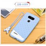 Case LG G5 / G5 SE ยี่ห้อ Fabitoo (ซิลิโคนนิ่ม) สีฟ้า