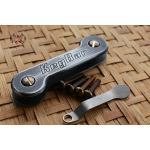 Key Bar White/Black Cerakoted Aluminum