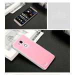 เคส Huawei Mate 7 ยี่ห้อ Mofi รุ่น Hybrid สีชมพู