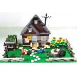 ฟาร์ม (Farm) WANGE-33201. ตัวต่อเลโก้จีน ฟาร์มบ้านน้ำตาล