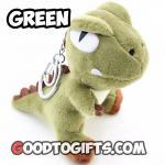 พวงกุญแจไดโนเสาร์ สีเขียว