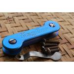Key Bar Blue Anodized Treated Titanium