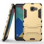 เคส Samsung Galaxy A5 2016 เคสกันกระแทกแยกประกอบ 2 ชิ้น ด้านในเป็นซิลิโคนสีดำ ด้านนอกพลาสติกเคลือบเงาโลหะเมทัลลิค แบบที่ 3