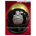 หมวกตำรวจจราจร สีดำทอง