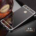 เคส Huawei P9 Plus รุ่น Aluminium Hybrid Mirror Back (เคสฝาหลังเงา) สีดำ