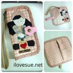กระเป๋า iPhone กระเป๋าโทรศัพท์ ลาย Cute Girl - pre order