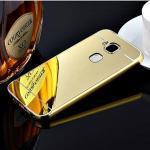 เคส Huawei G7 Plus รุ่น Aluminium Hybrid Mirror Back (เคสฝาหลังเงา) สีทอง