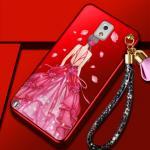 เคส Samsung Note 3 พลาสติกลายผู้หญิงแสนสวย พร้อมที่คล้องมือ สวยมากๆ แบบที่ 5